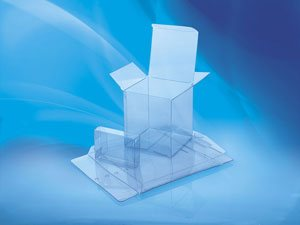 Supplier of crystal clear plastic boxes for retail packaging