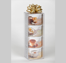 packaging for stackables transparent coffee