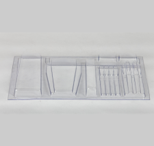 thermoform tray clear plastic packaging